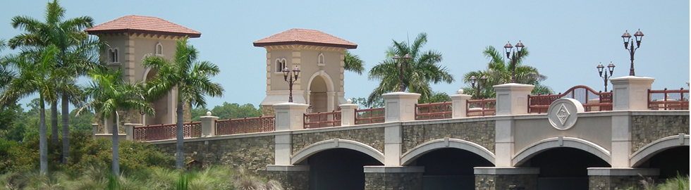 Treviso Bay Entry Bridge